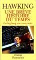 Couverture Une brève histoire du temps Editions Flammarion (Champs) 1991