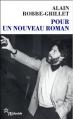 Couverture Pour un nouveau roman Editions de Minuit (Double) 2012