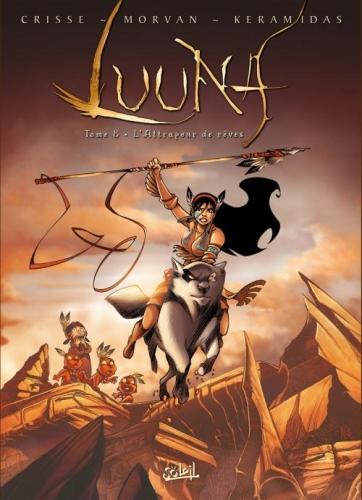 Couverture Luuna, tome 8 : L'attrapeur de rêves