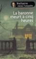 Couverture La baronne meurt à cinq heures Editions France loisirs 2012