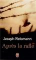 Couverture Après la rafle Editions J'ai Lu 2013