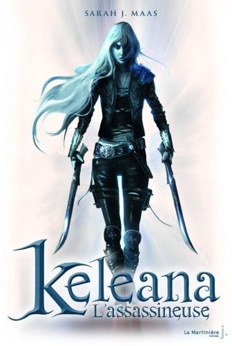 Couverture tome 1 de Keleana de Sarah J. Maas