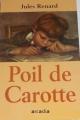Couverture Poil de carotte Editions Arcadia  1999