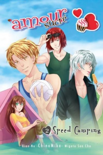 Couverture Amour sucré, tome 2 : Speed Camping