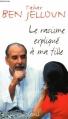 Couverture Le racisme expliqué à ma fille Editions Seuil 1998