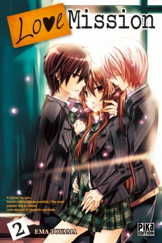 Couverture Love Mission, tome 02
