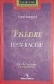 Couverture Phèdre Editions Beauchemin (Parcours d'une oeuvre) 2000