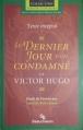 Couverture Le Dernier Jour d'un condamné Editions Beauchemin (Parcours d'Une Oeuvre) 1999