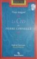 Couverture Le Cid Editions Beauchemin (Parcours d'Une Oeuvre) 2001