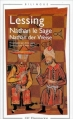 Couverture Nathan le Sage Editions Flammarion (GF - Bilingue) 1999