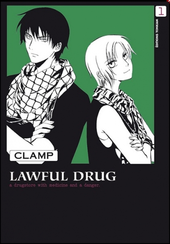 Couverture Lawful drug, tome 1