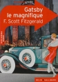 Couverture Gatsby le magnifique / Gatsby Editions Belin / Gallimard (Classico - Lycée) 2013