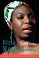 Couverture Nina Simone, roman Editions Mercure de France 2013