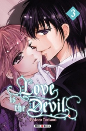 Couverture Love is the devil, tome 3