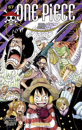Couverture One Piece, tome 67 : Cool Fight
