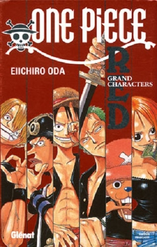 Couverture One Piece Red : Grand Characters