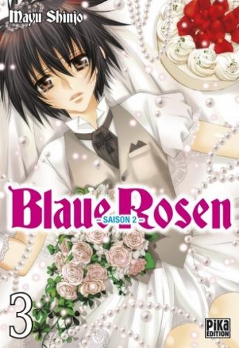 Couverture Blaue Rosen, saison 2, tome 3
