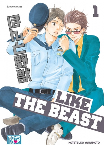 Couverture Like the Beast, tome 01