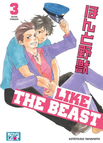 Couverture Like the Beast, tome 03