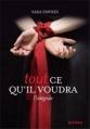 Couverture Tout ce qu'il voudra, intégrale, tome 1 Editions Marabout (Red Velvet) 2013