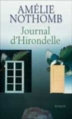 Couverture Journal d'Hirondelle Editions France Loisirs 2006