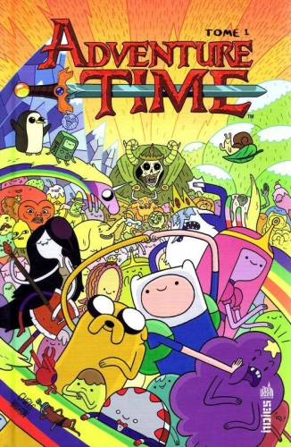 Couverture Adventure Time, tome 1
