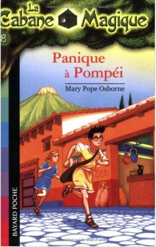 Couverture Panique à Pompéi