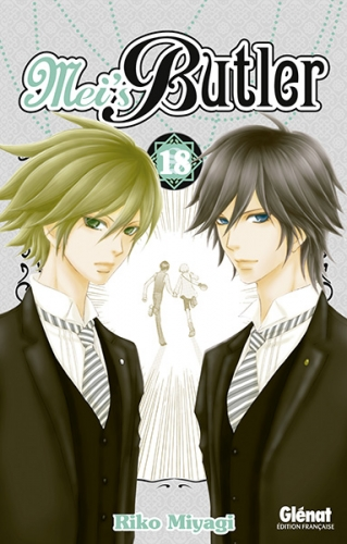 Couverture Mei's butler, tome 18