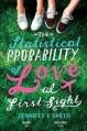 Couverture La probabilité statistique de l'amour au premier regard Editions Headline 2012