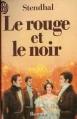 Couverture Le rouge et le noir Editions J'ai lu 1985