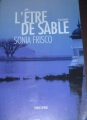 Couverture L'être de sable Editions Equivox 2002