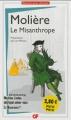 Couverture Le misanthrope / Le misanthrope ou l'atrabilaire amoureux Editions Flammarion (GF) 2013
