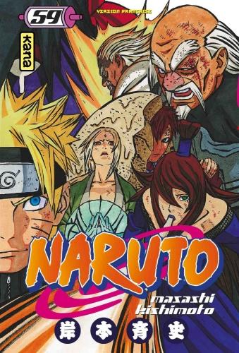 Couverture Naruto, tome 59