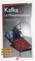 Couverture La métamorphose Editions Flammarion (GF) 2010