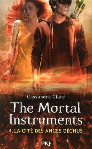 Couverture La Cité des Ténèbres, tome 4 : Les Anges Déchus / The Mortal Instruments, tome 4 : La Cité des Anges Déchus
