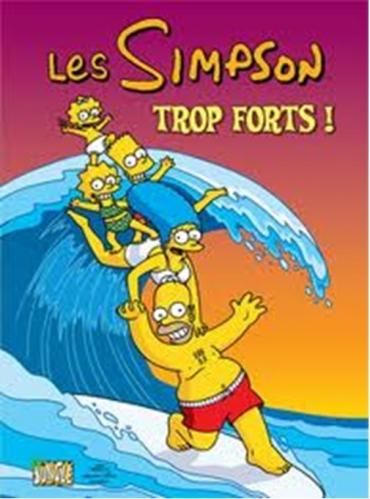 Couverture Les Simpson : Trop forts !