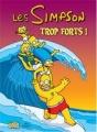 Couverture Les Simpson : Trop forts ! Editions Jungle ! 2009