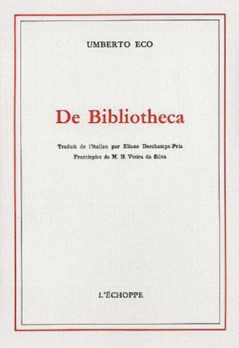 Couverture De Bibliotheca