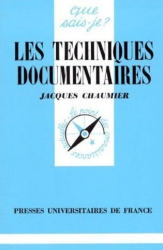 Couverture Les techniques documentaires