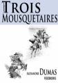 Couverture Les trois mousquetaires Editions Feedbooks 2004
