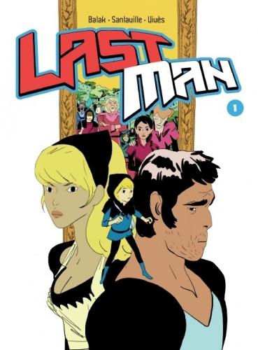 Couverture Lastman, tome 01