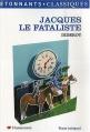 Couverture Jacques le fataliste / Jacques le fataliste et son maître Editions Flammarion (GF - Etonnants classiques) 2007