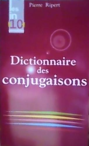 Couverture Dictionnaire des Conjugaisons
