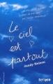 Couverture Le ciel est partout Editions Gallimard  (Scripto) 2011