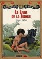 Couverture Le livre de la jungle Editions Nathan (Bibliothèque Rouge et or) 2011