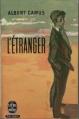 Couverture L'étranger (BD) Editions Le Livre de Poche 1957