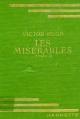 Couverture Les Misérables, abrégé, tome 2 Editions Hachette (Bibliothèque Verte) 1957