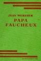Couverture Papa-Longues-Jambes / Papa Faucheux Editions Hachette (Bibliothèque Verte) 1953