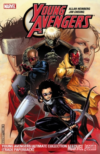 Couverture Young Avengers: Ultimate Collection