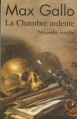 Couverture La chambre ardente Editions Le Club 2007